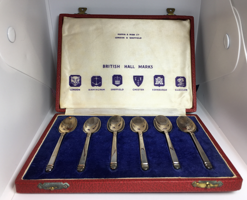 And silver mappin webb Mappin And
