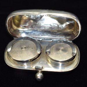 1914 Silver Double Sovereign Case