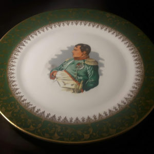 Limoges Napoleon plate