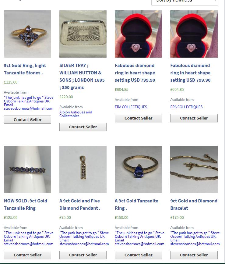 Open a Talking Antiques Shop