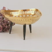 Colonial Indian Brass Display or Fruit Stand 4