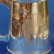 Camel Silver Plated Beer Mug 1